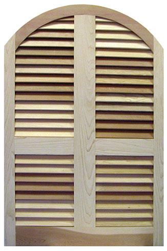 curved window shutter
