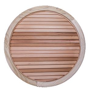 circular window shutters