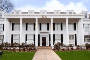 white sorority house