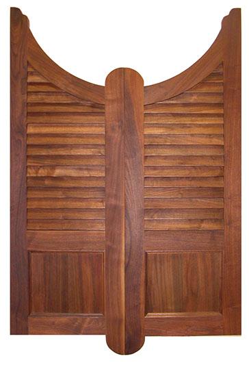 saloon door with a u-shaped top